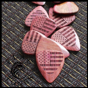 Flag Tones - Stars & Stripes - Pack of 4 Picks | Timber Tones